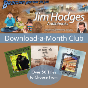 Jim Hodges Audiobooks | Download a Month Club | subscription